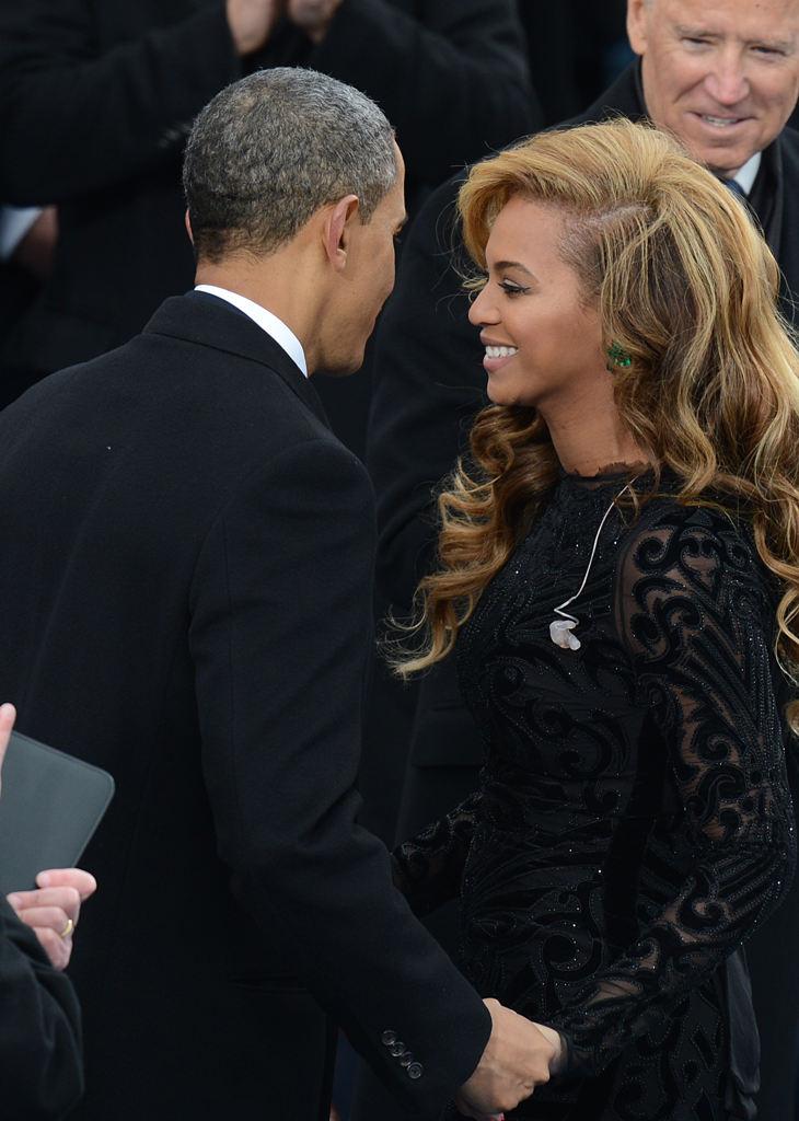 Sztárok: Beyoncé és Obama