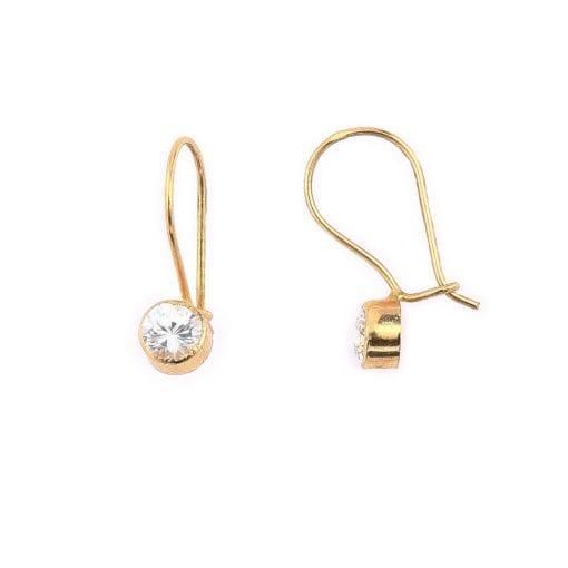 női arany fülbevaló