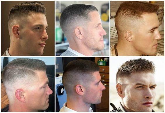rövid férfi frizurák